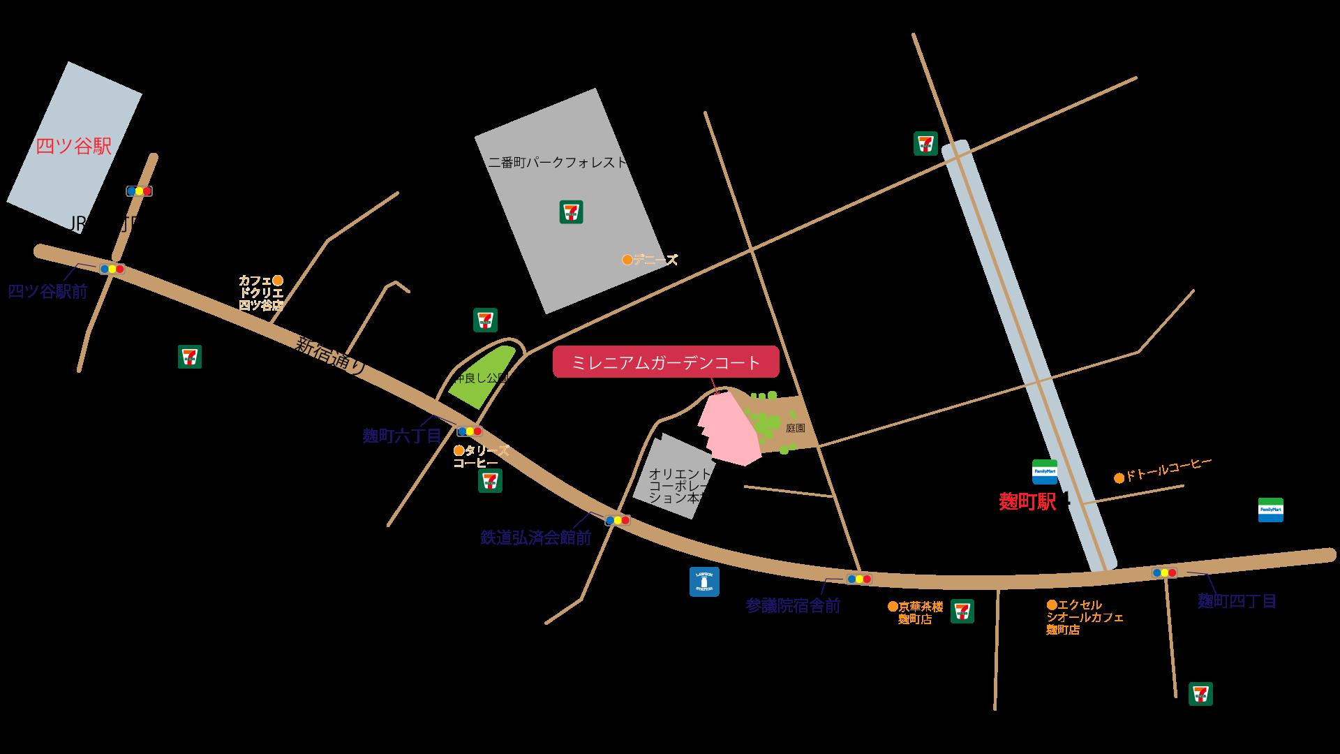レラピリカへの地図